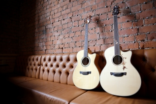 Photoshoot for Crafter Guitars